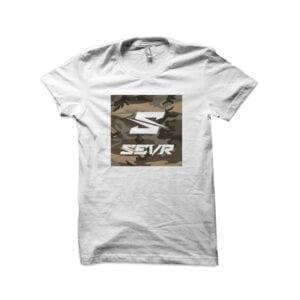 SEVR T-SHIRT – CAMO SQUARE