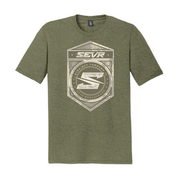 SEVR T-Shirt - Shield Logo