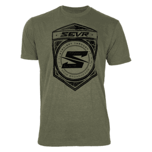 SEVR T-SHIRT – SHIELD LOGO