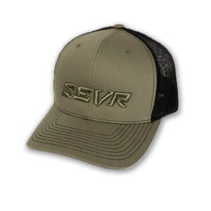 SEVR PUFFY SNAPBACK HAT