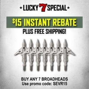 sevr broadhead coupon codes